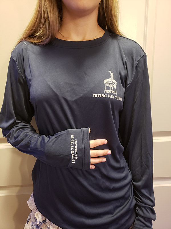Long Sleeve Performance Shirt Navy