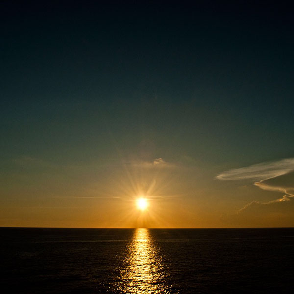 Sunsets from the Helipad at Frying Pan Tower